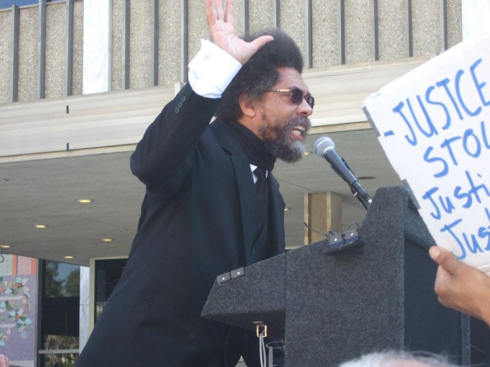Cornel West speaks out against the war