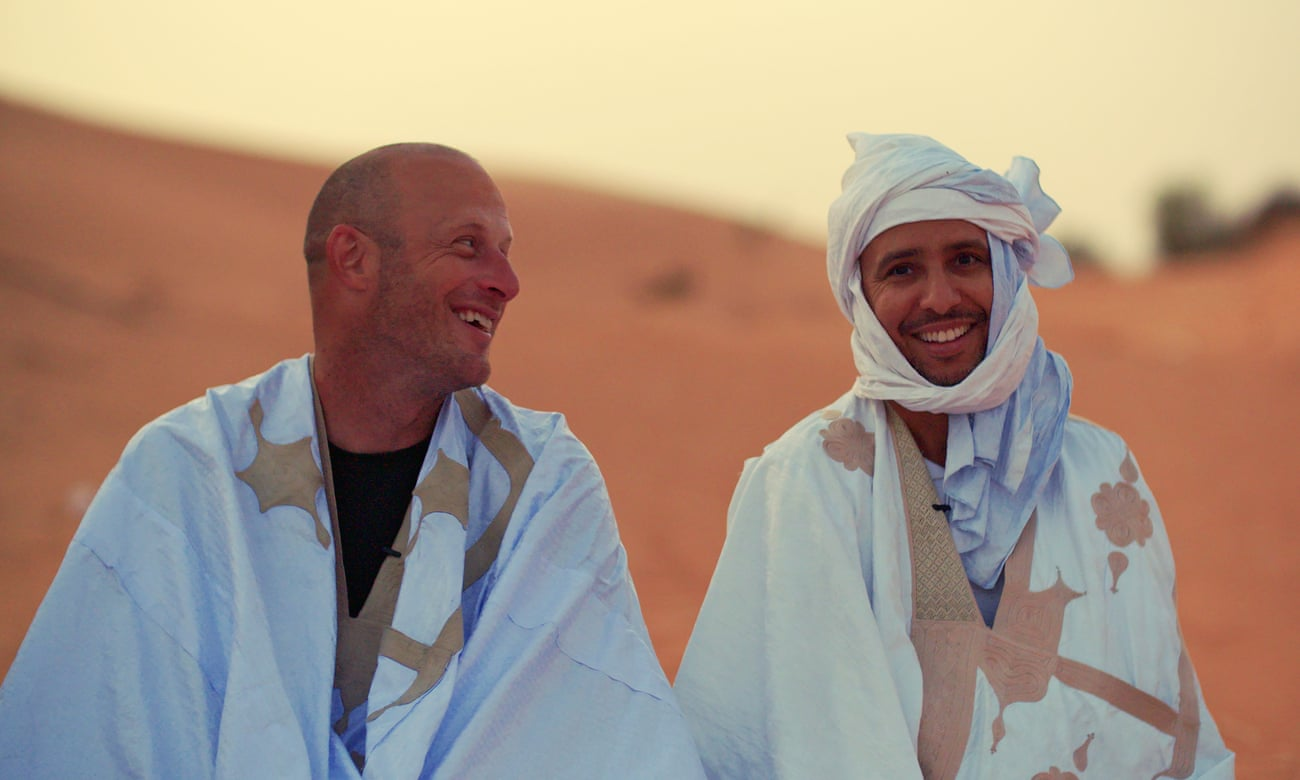 Mohamedou Ould Salahi and Steve Wood in  Mauritania