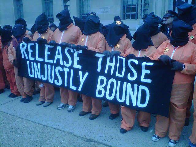 Protest torture at Guantanamo