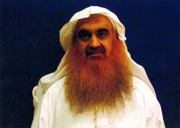 Khalid Shaikh Mohammed, who is accused of plotting the Sept. 11 attacks, in an image provided by his lawyers. A doctor kept count of each of his near drownings when he was waterboarded, an architect of the C.I.A. interrogation program testified.