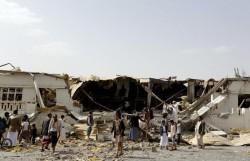 yemen-bombed-factory